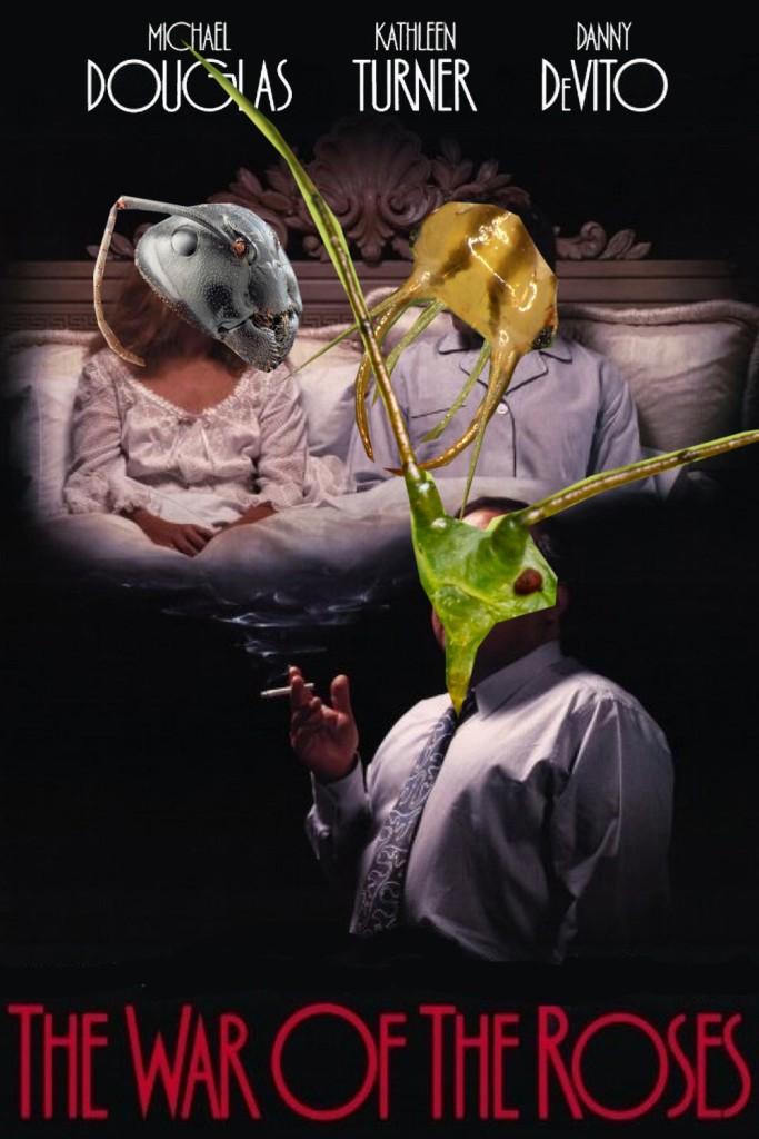 Ho un ricordo molto vago di questo film. Alla fine vinceva la formica o la crisopa? Immagine modificata da Francesco Lami.